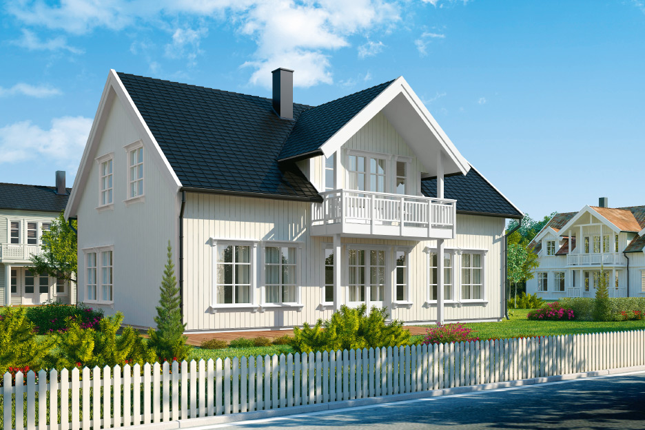 Prefabricated house – price 39.500.-€
